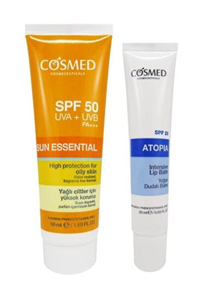 Sun Essential SPF50 Oily Skin Cream 50 ml Set 8699292992623