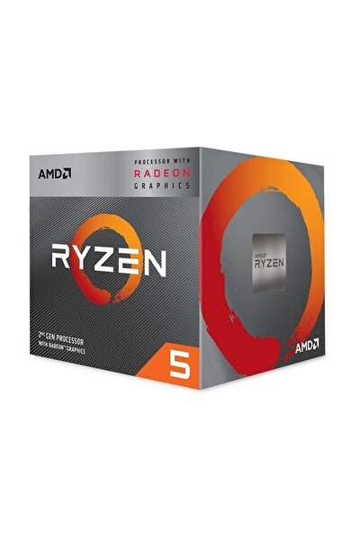 Ryzen 5 3400G 3.7GHz AM4 Soket 6MB Önbellek 65W 12nm İşlemci YD3400C5FHBOX