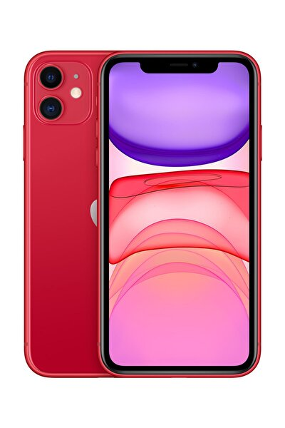 iPhone 11 128GB (PRODUCT)RED Cep Telefonu (Apple Türkiye Garantili) Aksesuarlı Kutu