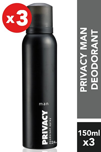 Men 3'Lü Deodorant (3X150 ml )