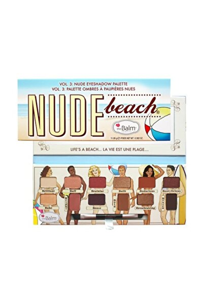 Nude Beach Palette Far Paleti Dude