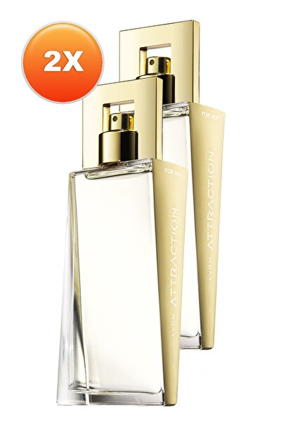 Attraction Kadın Parfüm Edp 50 ml 2'li Set 5050000102650