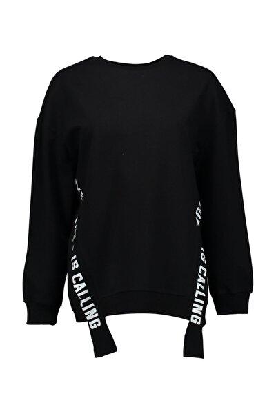 Kadın Siyah S-Shirt - UCB150461A41