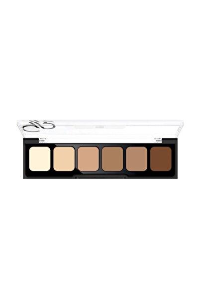 6'lı Kapatıcı Paleti - Concealer Cream Palette 02 Medium To Dark 8691190120726