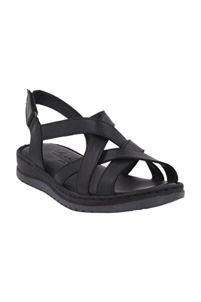 1412 Hakiki Deri Sandalet