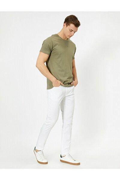 Erkek Beyaz Jeans 0YAM42505BW