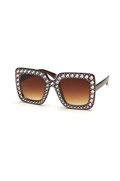 Kadın Dikdörtgen Güneş Gözlüğü BLT-19-73-B