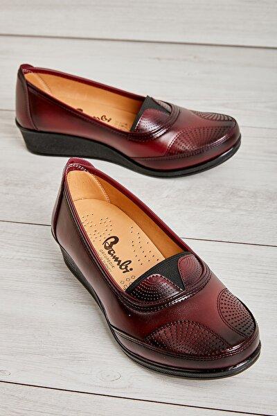 Bordo Kadın Casual Ayakkabı L06210109