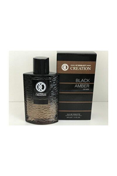 Kreasyon men black amber Edt100 ml 8692229064783