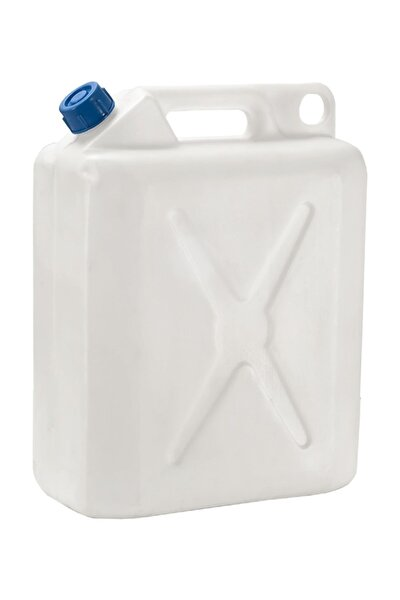 Beyaz 12-15 L 5 Adet Plastik Çanta Bidon - Benzin Bidonu