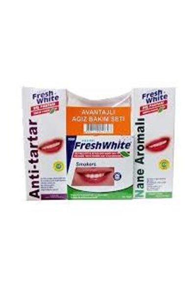 Avantajlı Set Diş Toz  3'lü Diş Beyazlatma Ve Parlatma