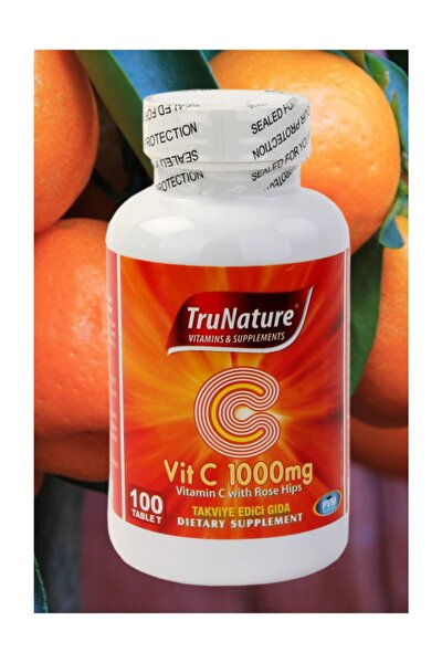 Vitamin C 1000 mg Kuşburnu Ekstresi 100 Tablet