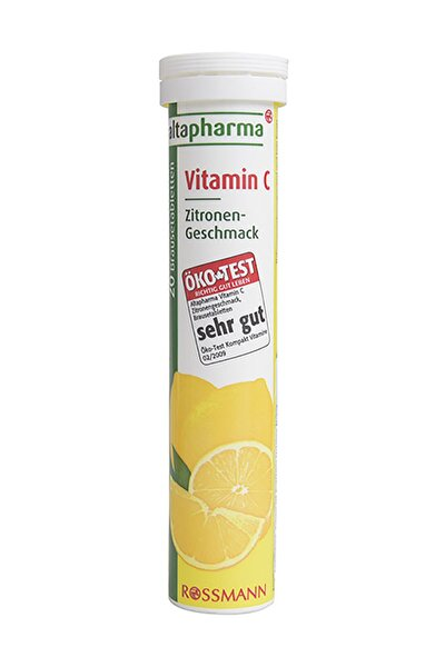 Vitamin C Içeren Takviye Edici Gıda Efervesan Tablet