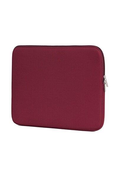 Macbook Air Pro 13 Uyumlu Kılıf Laptop Kılıfı Case 13 Inç Mac 13 Inch Koruma- Kırmızı