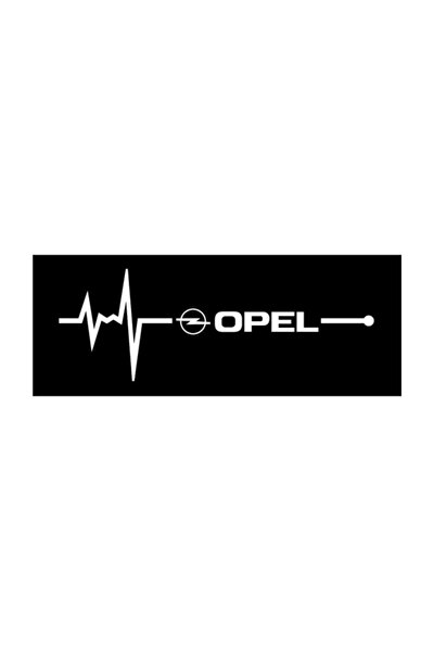 Opel Napız Kalp Kelebek Cam Için Sticker Yapıştırma