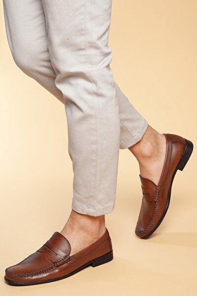 Hakiki Deri Taba Erkek Ayakkabı DXTRSWMN10180