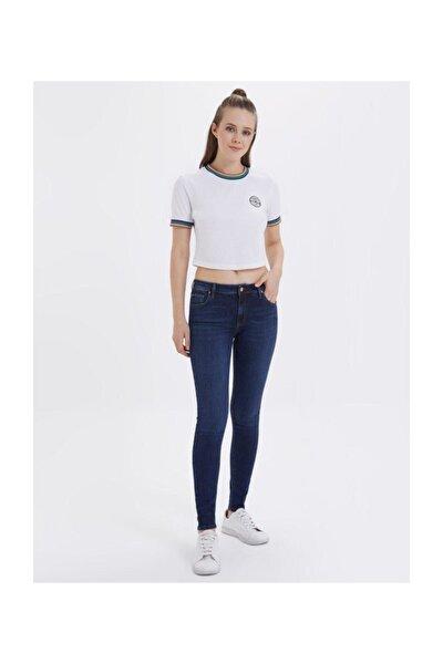 Nıcole Arya Dark Blue Wash W Pantolon Lf 2019386