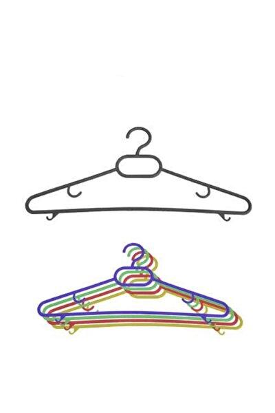 12 Adet Plastik Elbise Askısı Ekonomik Elbise Askılığı Askılık Etek Askısı Pantolon Askısı