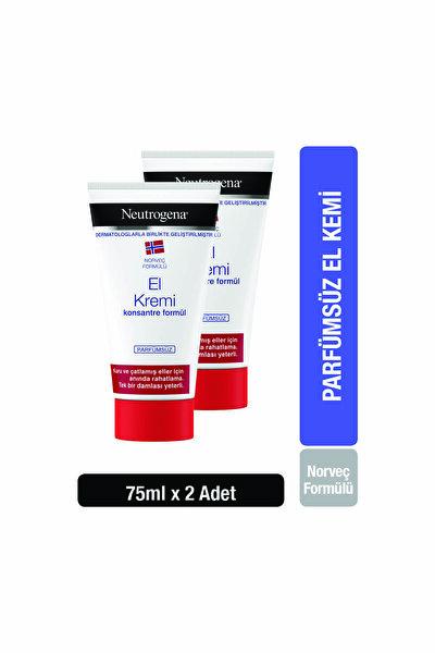 Norveç Formülü El Kremi Parfümsüz 75 ml  x 2