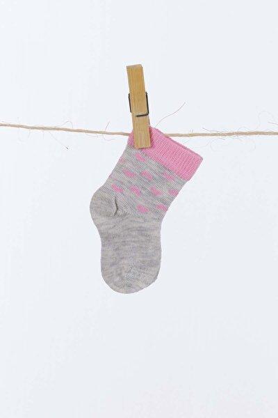 Kar Melanj Kız Çocuk Çorap