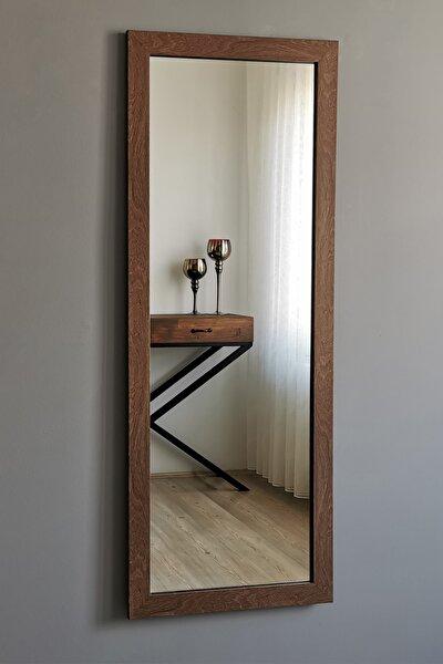 Ceviz Çerçeveli Dekoratif Boy Ayna 40x105 cm.