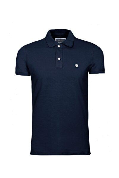 Laon Spor Polo T- Shirt Koyu Lacivert