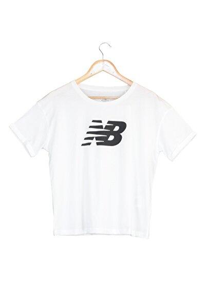 Spor T-Shirt - NB VOM TEE - V-WTT807-WT
