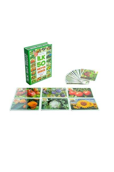 Ilk 50 Meyve Sebze Eğitici Hafıza Kartı