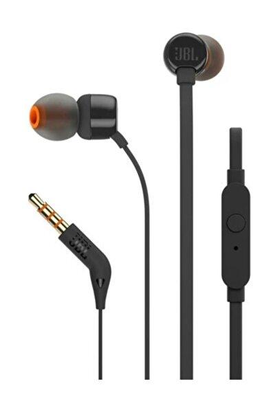 T110 Kulakiçi Mikrofonlu Kulaklık Siyah