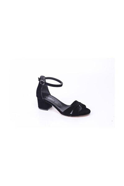 Kadın Topuklu Tek Bant Ayakkabı