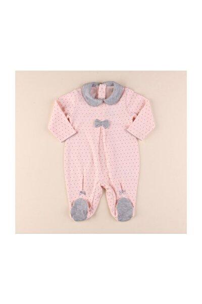 Miniropa Kız Bebek 4 Mevsimlik %100 Pamuk Tulum -1001410 Bebek Doğum Hediyesi