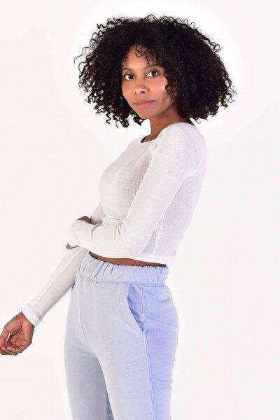 Kadın Beyaz Düşük Omuzlu Bluz ADX-0000021177