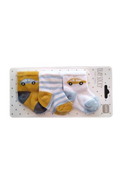 Yeni Doğan Soket Çorap Bebek 3'lü