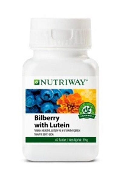 Bilberry With Lutein Nutrıway™ (62 Tablet)