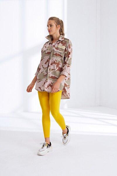 Kadın Sarı Tayt