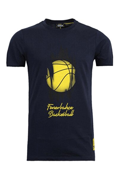 Erkek Fenerbahçe 19/20 Basketbol Top T-Shirt TK010E9S24