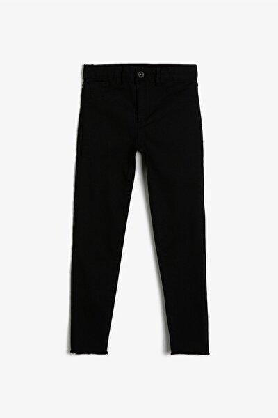Siyah Kız Çocuk Pantolon