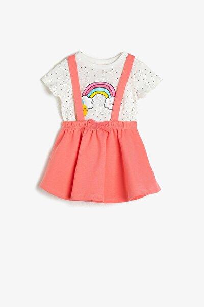 Kız Bebek Pembe Bebek Takımları 0YNG15357ZK
