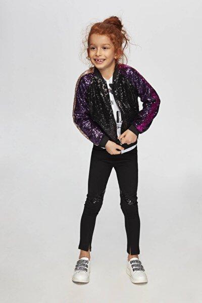 Kız Çocuk Siyah Ceket