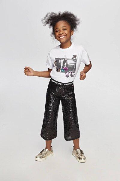 Kız Çocuk Siyah Pantolon