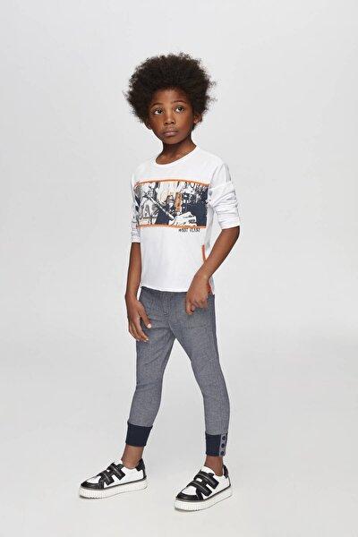 Erkek Çocuk Lacivert Pantolon