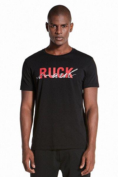 Erkek Casual T-shirt - Nero S20M0320Y0231