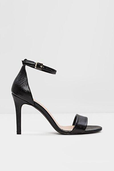 PILIRIA Siyah Kadın Topuklu Sandalet