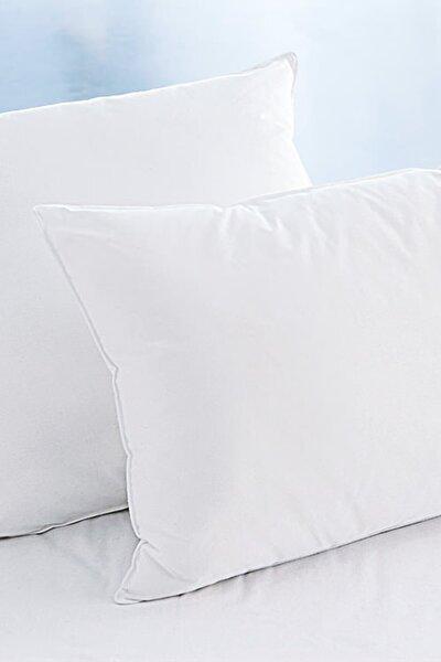 2'li 50 x 70 cm Boncuk Silikon Yastık - Microfiber - 700 gr
