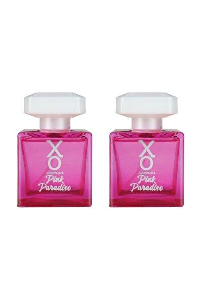 Kadın Pink Paradise Parfüm Edt 100 ml X 2 Adet 7777777176276