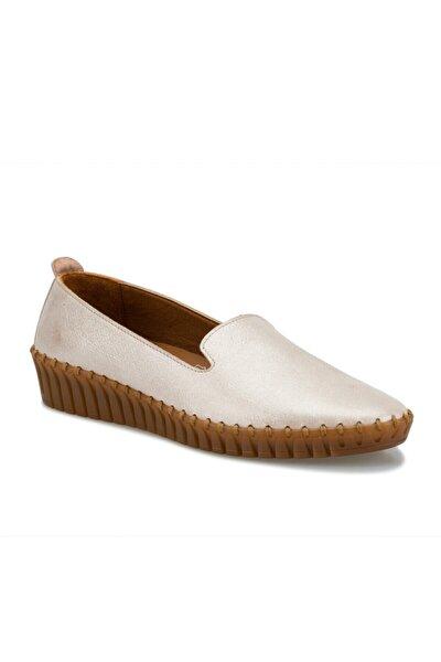 Hakiki Deri Pudra Kadın Ayakkabı 103080.Z