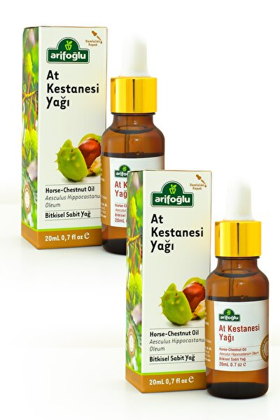 At Kestanesi Yağı 20 + 20 ml 2 Li Set