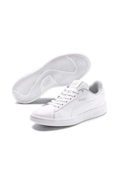 SMASH V2 L JR Beyaz Erkek Çocuk Sneaker Ayakkabı