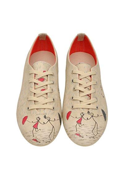 Çok Renkli Kadın Ayakkabı DGOXF016-620
