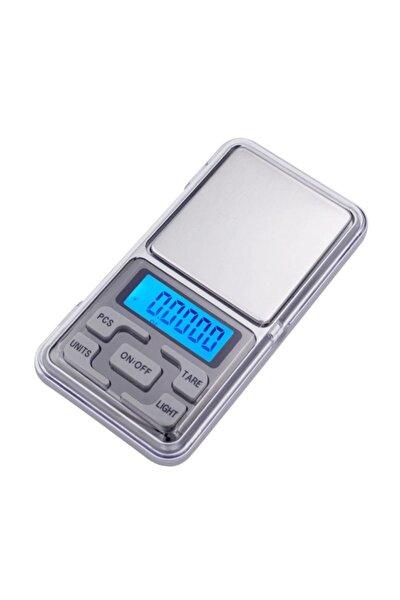 Dijital Hassas Terazi 500 gr Kapasiteli 0,01 gr Hassasiyet Kapaklı Cep Tipi Hassas Tartı